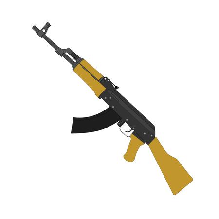 ak47: The AK-47. Weapon machine