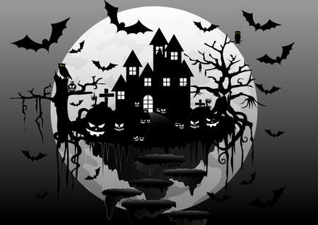 The night of darkness in october everyone must remember. Happy halloween.