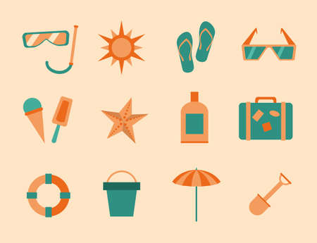 repose: summer icons