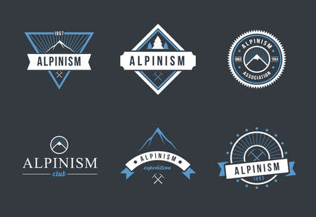 Alpinism  design set
