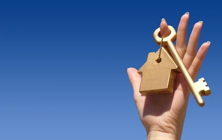 company ownership: Concept of home ownership Stock Photo