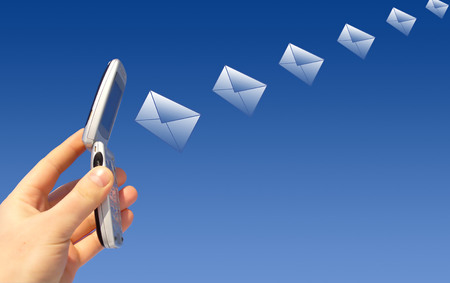 Email sending Stock Photo - 1677771