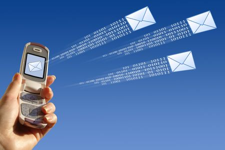 Send email Stock Photo - 1787170