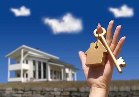 homeownership: Concept for homeownership Stock Photo