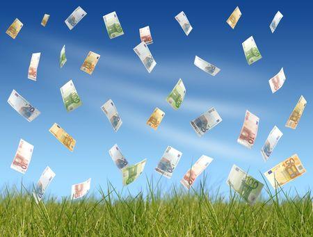 cash flows: Flying money