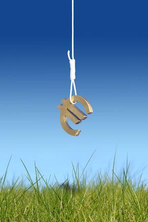Euro symbol in slipknot photo