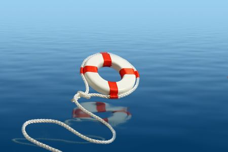 lifebuoy: Flying life preserver for help