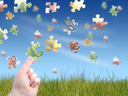 Money puzzle photo