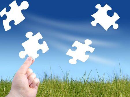 different goals: Puzzle concept