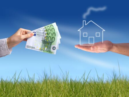 Buying new house concept Stock Photo - 2988533