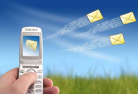 gprs: Send message