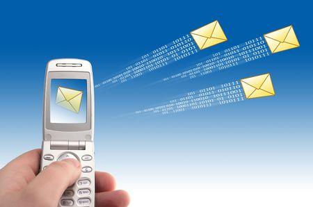 Send message Stock Photo - 2892050