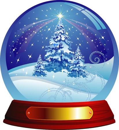 Christmas tree Векторная Иллюстрация