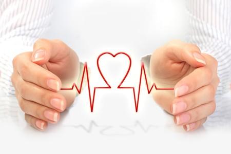 seguros: Concepto de seguro de salud.  Foto de archivo