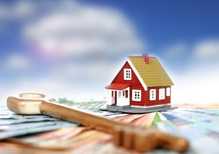 viviendas: Concepto de bienes ra�ces.