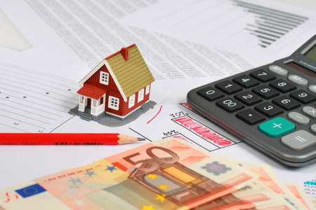 property management: Invest in real estate concept. Stock Photo
