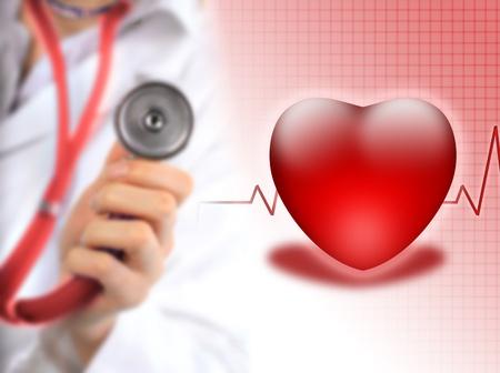 estetoscopio corazon: Concepto de seguro de salud.