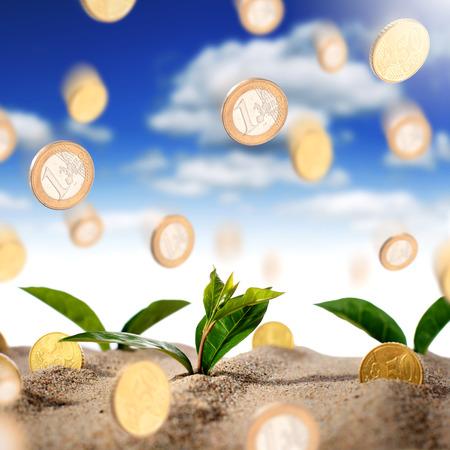 Making money concept Standard-Bild