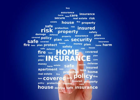 Home insurance concept. Stock Photo
