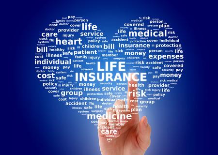 Life insurance concept photo