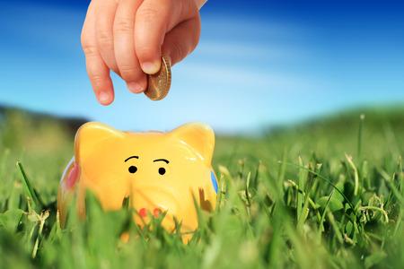 Financial concept. Banque d'images