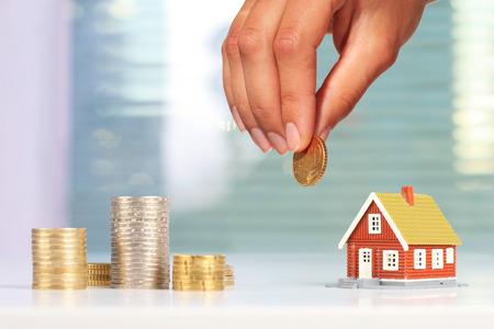Investissement immobilier Banque d'images