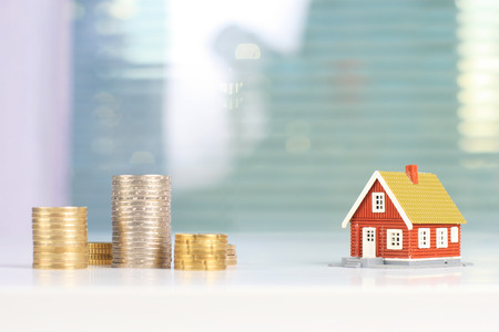 Investissement immobilier Banque d'images - 39093173