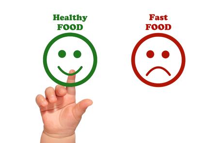 Healthy food for kids Banque d'images