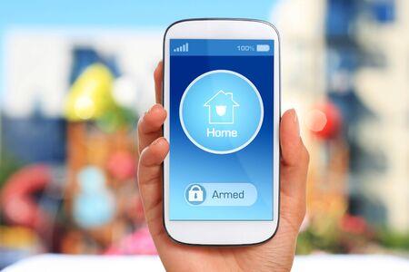 Home security concept Banque d'images