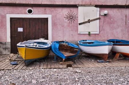 mediterraneo: boat Stock Photo
