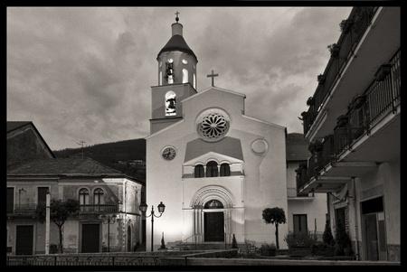 costruction: church St  Matthew Apostle of agerola