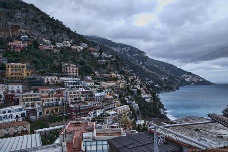 positano: Positano, the Amalfi Coast town located in the Campania region in Italy