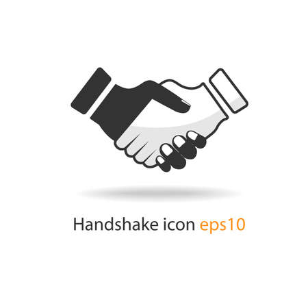 professional relationship: handshake icon
