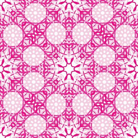 kaleidoscope: Abstract seamless pattern Kaleidoscope Illustration