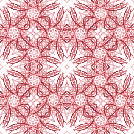 seamless pattern: Abstract seamless pattern Kaleidoscope Illustration