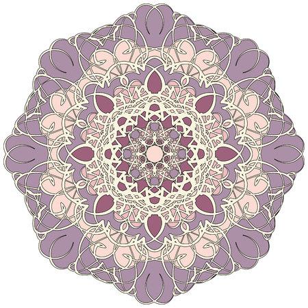 mandala: Abstract pattern mandala.