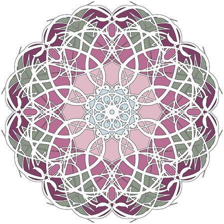 mandala: The circular pattern mandala.