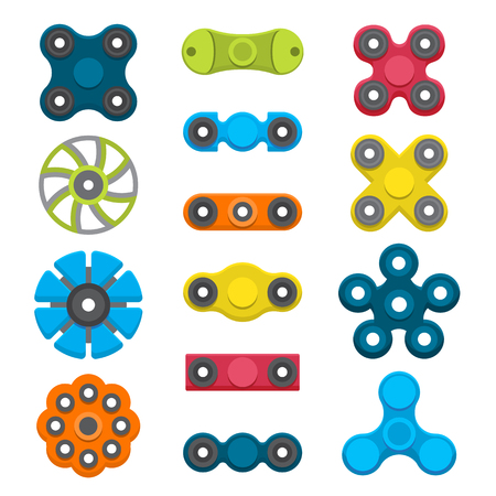 Hand spinners set.