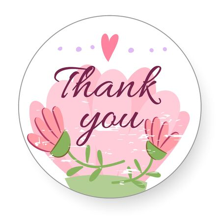 Thank you so mach. Hand lettering. Thank You Appreciation Gratitude Floral Leaves Trendy Typography Vector Background for Greeting Cards, Post Cards, Poster, Flyers, Social Media. Vector thanksgiving.