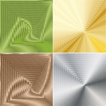 the prospect: four abstract background with the prospect of