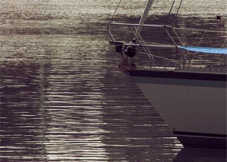 reflexion: Floating on reflexion Stock Photo