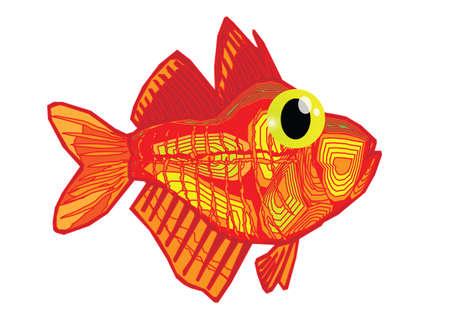 bloat: Funny fish cartoon