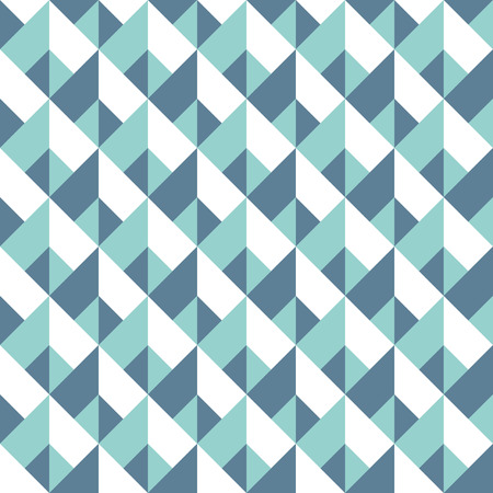 Abstract seamless geometric pattern. Vector polygonal background. Chevron wallpaper or fabric texture Stock Illustratie