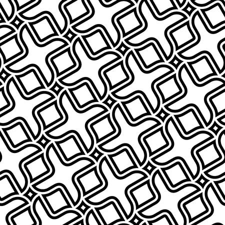 Vector seamless texture: endless abstract monochrome diagonal geometric pattern