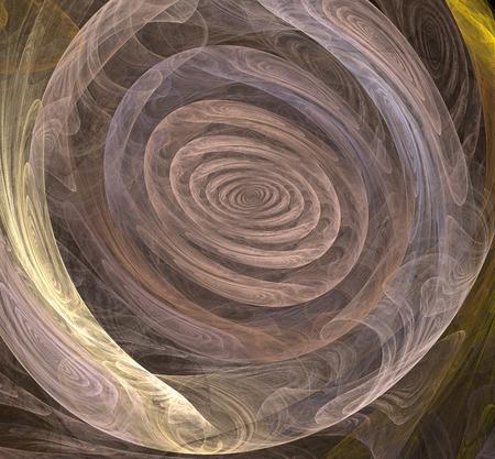 elipse: Espiral abstracto en una elipse con la textura de la madera Foto de archivo