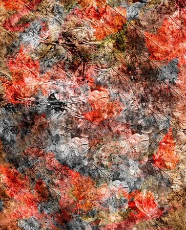 fleck: Abstract watercolor background handmade. Stock Photo