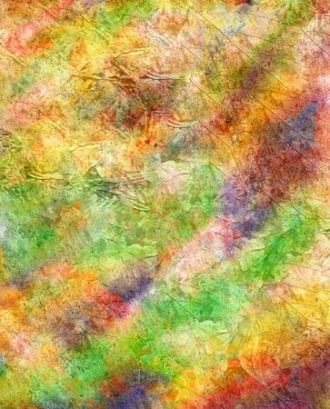 smirch: Abstract watercolor background handmade. Stock Photo