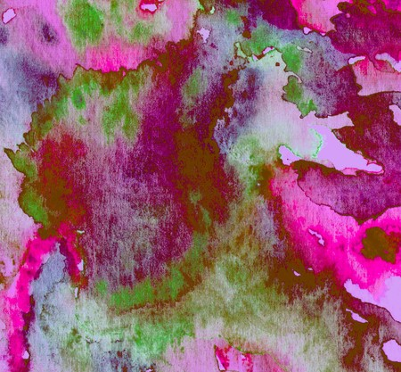wall paint: Watercolor abstract textural background handmade. Crumpled paper, leaves, spray