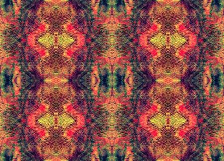 mystery: Seamless symmetrical pattern to the center. Mystery, Fantasy, Aura