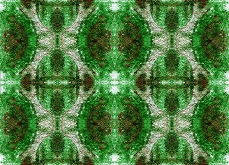 aura: Seamless symmetrical pattern to the center. Mystery, Fantasy, Aura
